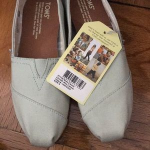 Toms Women's Classic - Mint Canvas